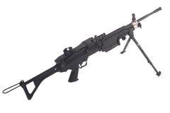 Machine gun m249 Royalty Free Stock Photo