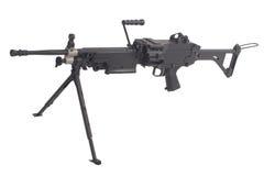 Machine gun m249 Royalty Free Stock Photos