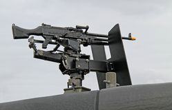 Machine Gun. Royalty Free Stock Photography