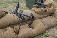 Machine gun nest Royalty Free Stock Photo