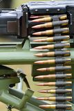 Machine gun round Royalty Free Stock Images