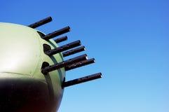 Machine gun turret. Stock Image