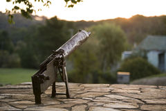Machine Gun WW2 War Memorial Stock Photography
