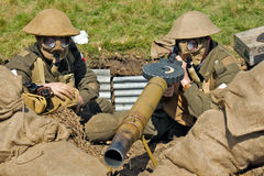 Machine Gunners Stock Photos