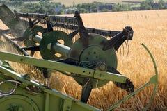 Machine harvesting Royalty Free Stock Photography