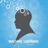 Machine het Leren Bedrijfstechnologieconcept vector illustratie