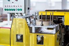 Machine industrielle avec le panneau de commande Image libre de droits