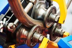 Machine industrielle d'?quipement de cintreuse de tube pour le recourbement de tuyau en m?tal photographie stock libre de droits