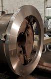 Machine industrielle en métal photo stock