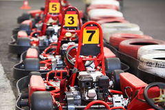 Machine karting Stock Photography