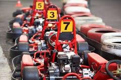 Machine karting photographie stock