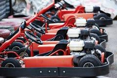 Machine karting Stock Image