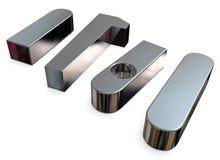 Machine keys stock image