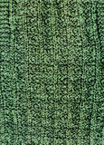 Machine knitting dark green wool texture Royalty Free Stock Photography