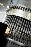 Machine à la centrale pharmaceutique Images stock