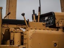 Machine latérale de boom de pose de tuyau Image libre de droits