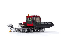 The machine for laying the ski slope Stock Photography