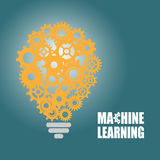 Machine learning and artificial intelligence Royalty Free Stock Photo