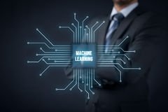Machine learning concept Stock Photography