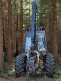 Machine logging, South Bohemia. Czech Republic Royalty Free Stock Images