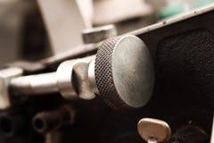 Machine mécanique de fragment dans l'industrie photo libre de droits