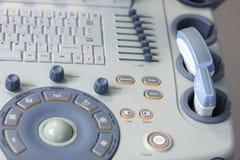 Machine médicale d'USG Images libres de droits