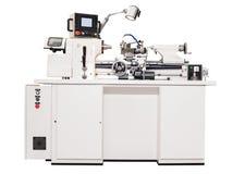 Machine métallurgique grise de tour image libre de droits