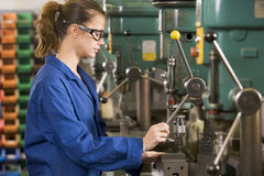 machine machinist working Στοκ Φωτογραφίες