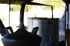 Machine for making brandy Royalty Free Stock Image