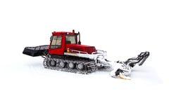 Machine for making a ski slope Royalty Free Stock Image