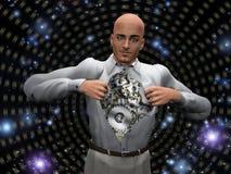 Machine Man Royalty Free Stock Photo