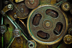 Machine mechanics Royalty Free Stock Photo