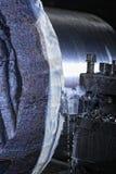Machine met metaalbewerkend koelmiddel royalty-vrije stock afbeeldingen