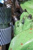 Machine met metaalbewerkend koelmiddel stock foto's