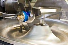 Machine mincing professionnelle pour la viande Photo libre de droits