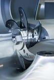 Machine mincing professionnelle pour la viande Images stock