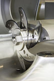 Machine mincing professionnelle pour la viande Photos stock