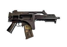 The machine model for airsoft. Stock Image