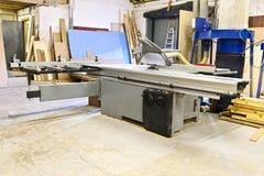 Machine om hout te verwerken royalty-vrije stock afbeelding