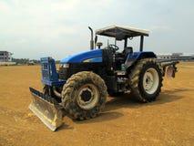 Machine op Land voor de Bouw van BedrijfsBouwwerf Stock Fotografie