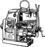 Machine-outil Photo libre de droits