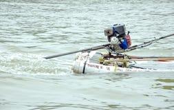 Machine paddle Royalty Free Stock Image