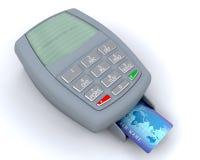 Machine par la carte de crédit illustration de vecteur