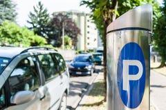 Machine parking Royalty Free Stock Photos