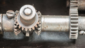 Machine parts mechanism Royalty Free Stock Photography