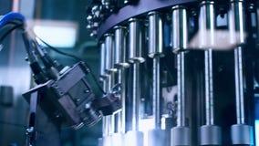 Machine pharmaceutique de fabrication Contrôle de qualité pharmaceutique banque de vidéos
