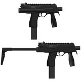 Machine Pistol Royalty Free Stock Photography