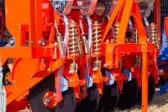 Machine planting corn Royalty Free Stock Photo
