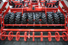 Machine plough details Royalty Free Stock Photos