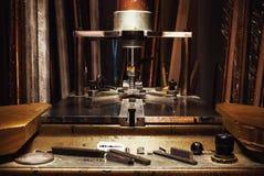 Machine pour les photos de encadrement Photo libre de droits